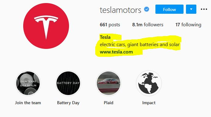 Tesla Motors Instagram | How to be Successful on Instagram